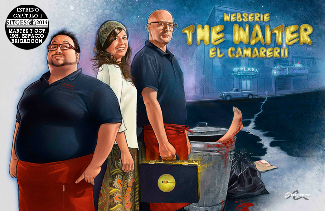 THE WAITER: Nuestra webserie