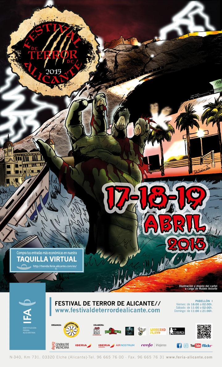 FESTIVAL DE TERROR DE ALICANTE 2015