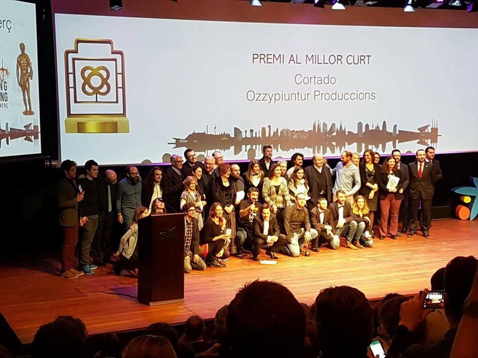 CORTADO: Premio al mejor cortometraje